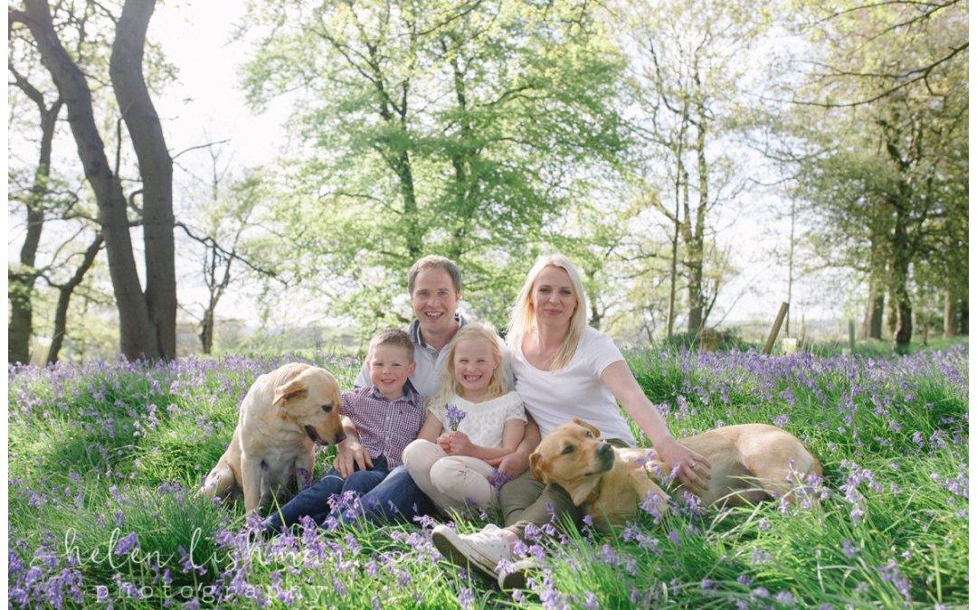 Otley Family Photo Shoot | Bluebells