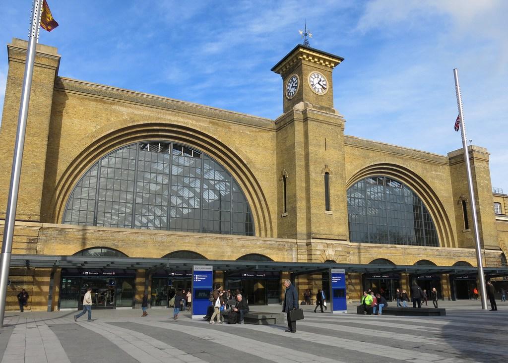 King's Cross station, London, looking splendid after its restoration