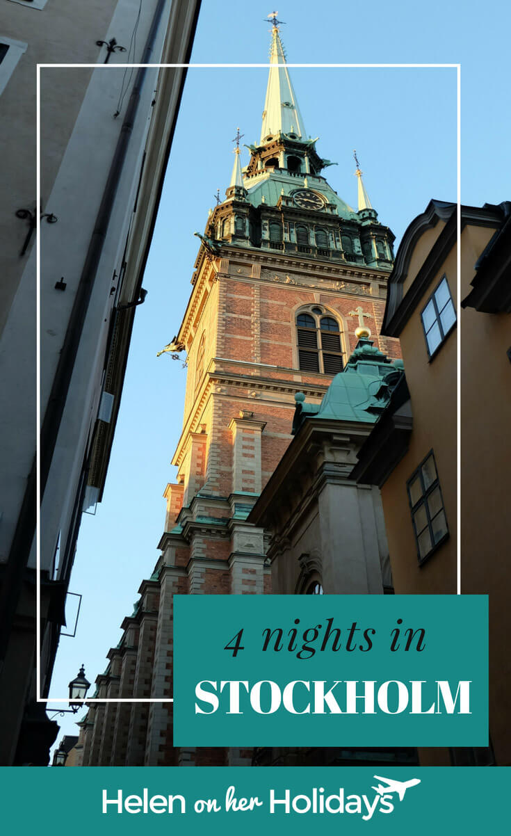 Four nights in Stockholm