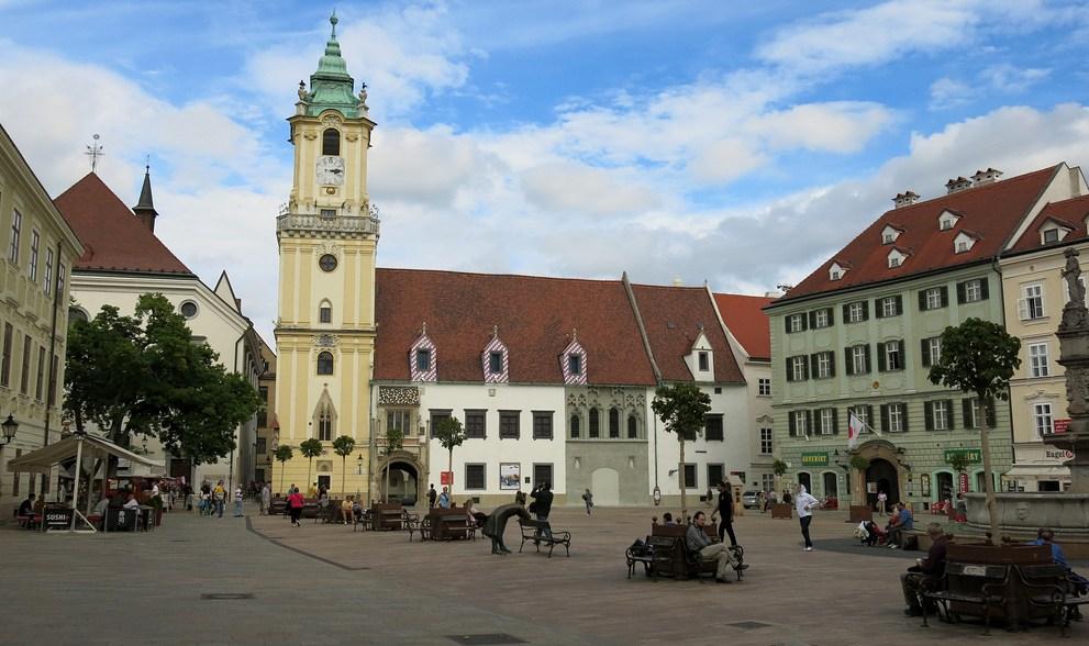 Gorgeous, surprising Bratislava, Slovakia