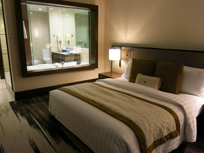 My lovely room at the Gran Melia Jakarta