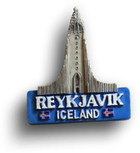 iceland fridge magnet