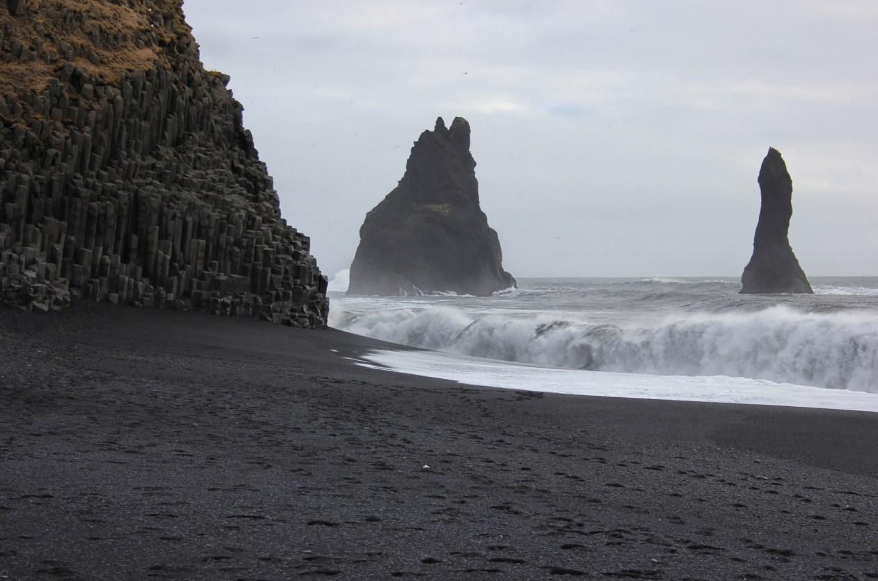 Reynisfjara - the black sand beach at Vik