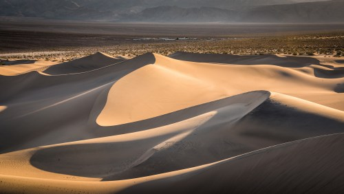 Mesquite Dunes, Death Valley. Photo courtesy of Peter Rivera, Flickr Creative Commons.
