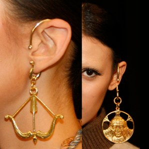Exotic Exciting Earrings from Mongolia - 2014