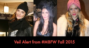 Veil Alert from NY Fashion Week – Fall 2015