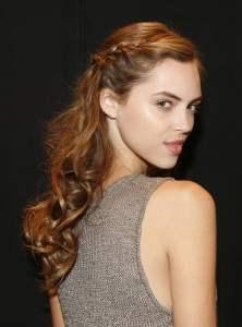 Gentle Curls, French Braiding – 2014