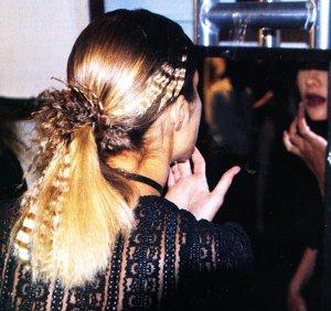 Crimped, Innovative Hair At #NYFW Fall – 2002