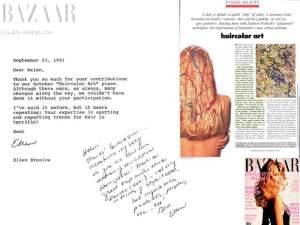 "Memory. My Bazaar ""Haircolor Art"" Piece - 1991"