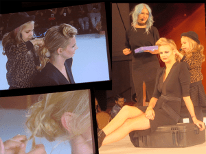 5 Year Old Hairstylist On Stage – 2016