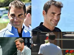 Oy! Federer's Chopped Hair Disaster - 2017