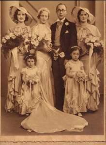 Stylish Art Deco Wedding - '30s