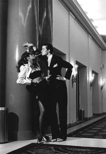 Gia/Robin Helmut Newton's Man/Woman - 1979