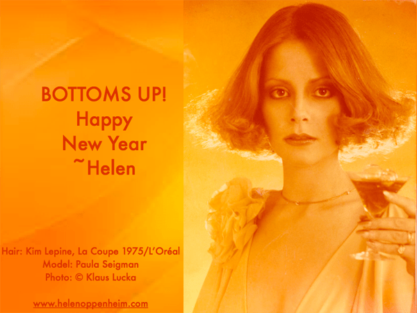 Bottoms Up! Happy New Year - 1975