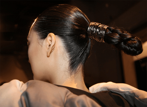 Strong Statement Chignon @ AAU NYFW – 2018