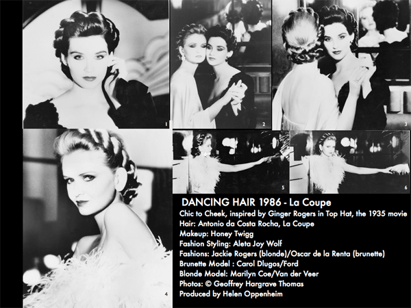 Chic To Cheek Dancing Hair - 1986