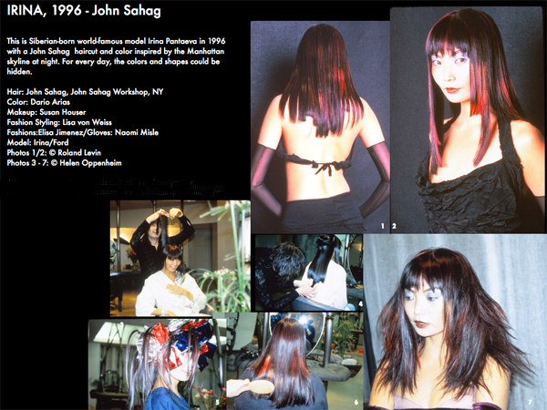 John Sahag Hair Inspired By NY Skyline – 1996