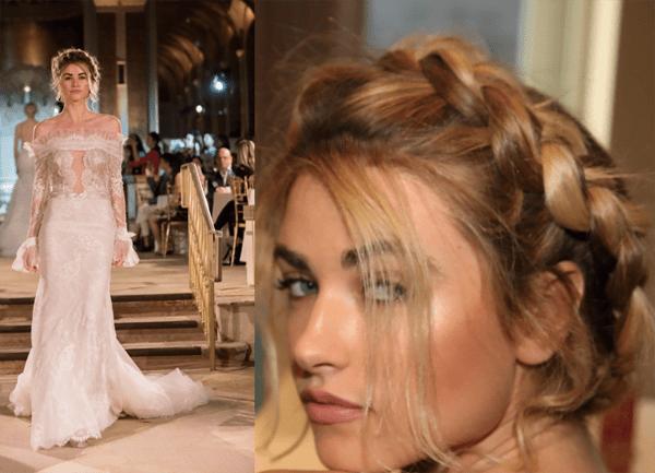 Romantic Braids for Romantic Brides - 2018