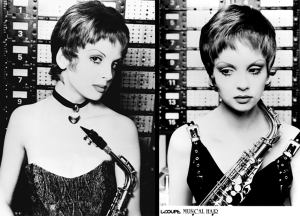 "Musical Hair: Waif With ""Sax"" Appeal - 1992"