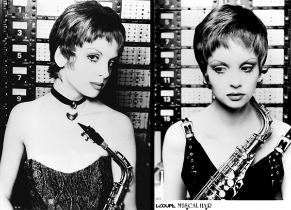 """Musical Hair: Waif With """"Sax"""" Appeal - 1992"""