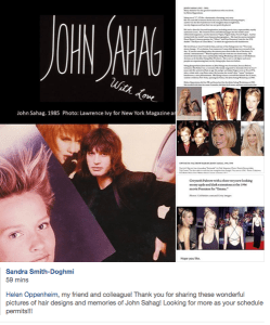 The Legendary John Sahag on Facebook - 2018