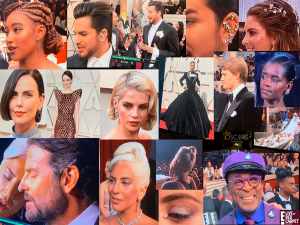 Hair and Fashions @ The Oscars - 2019