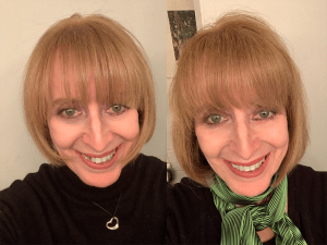 Selfies My Haircut & After 11 Weeks - 2020