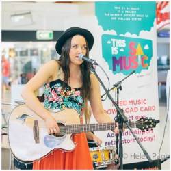 This is SA Music - Georgia Germein at Adelaide Airport