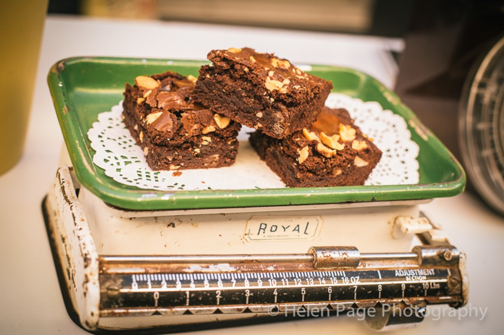 Food Photography Brownies