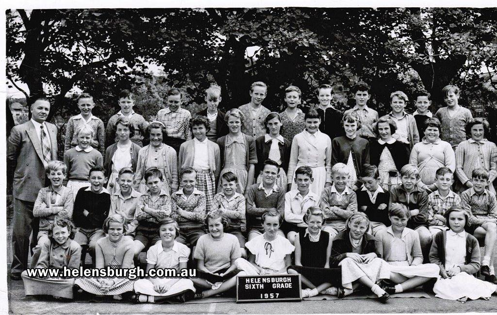 Helensburgh Public School 6th Grade in 1957 photo