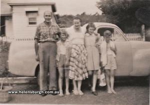 Anderson Family (with Peter & Barbara Lindwall from number 24) - 20 Robertson Street, Helensburgh