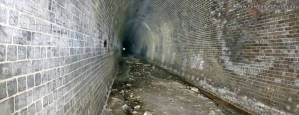 Inside the Otford Tunnel