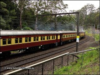 Historical Train at Lilyvale