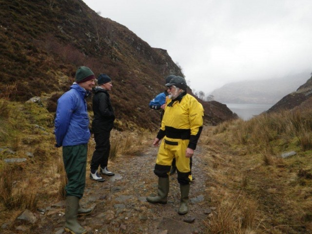 The top of the path to Tarbet; looking to Loch Nevis