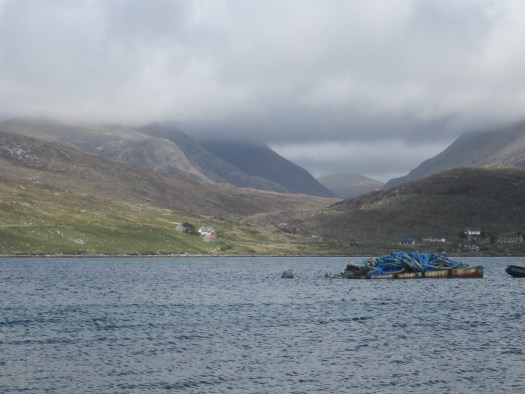 the hills of Harris close to our departure point