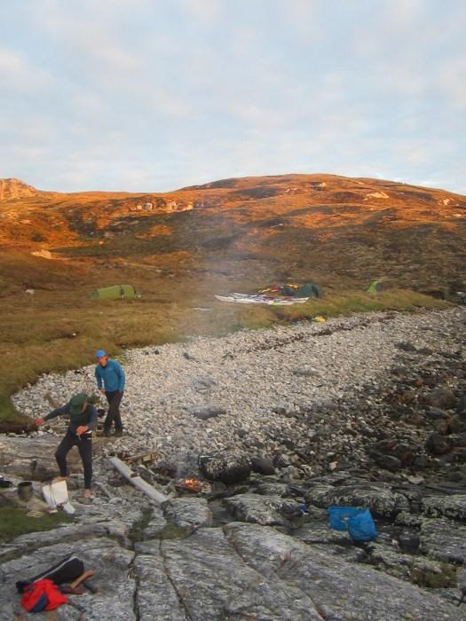 Campsite at Fuaigh
