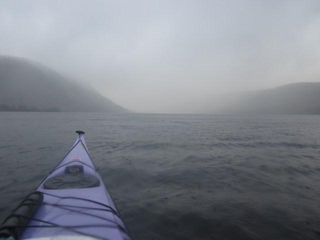 Heading up Loch Lochy