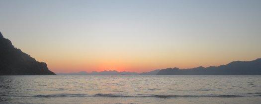 Sunset at Turtle Beach