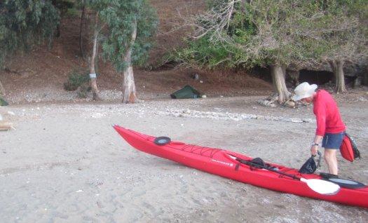 Camp Site 3: Turtle Beach