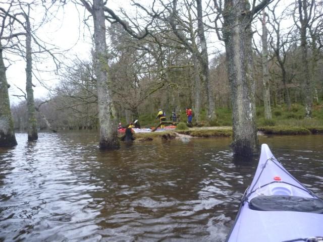 Repair duty on a floded Inchvannach