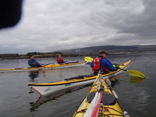 Our Allan with Clydebank Alan and Colin