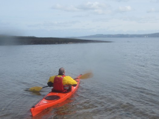 Lee approaching Rosneath Point