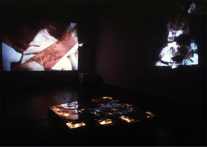 Between Us : Installation, Chapter Arts Centre 1985