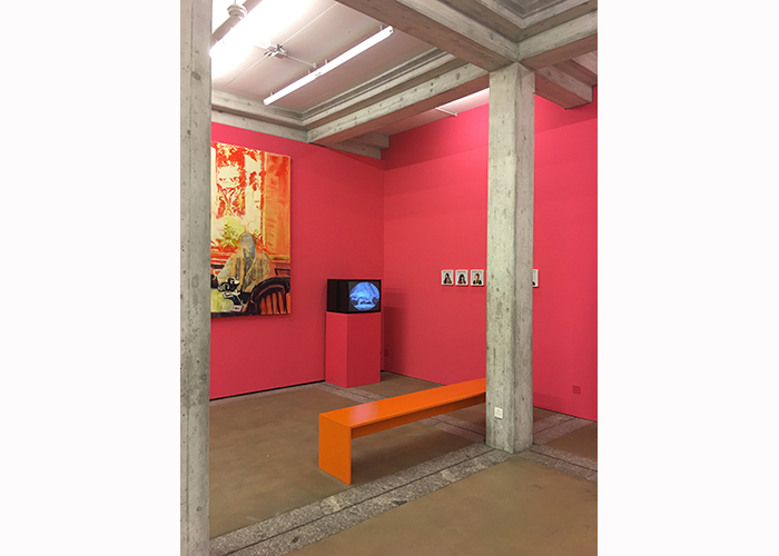 Altar / Sightlines : Installation View, Kunst Museum St. Gallen 2018