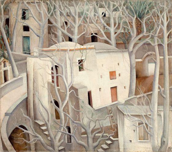 Anita Rée, Weiße Nussbäume