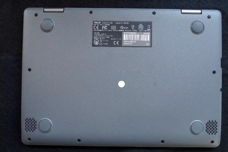 review ASUS Chromebook C223 11