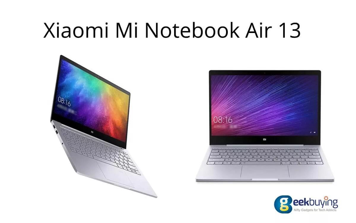 xiaomi mi notebook air 13 image