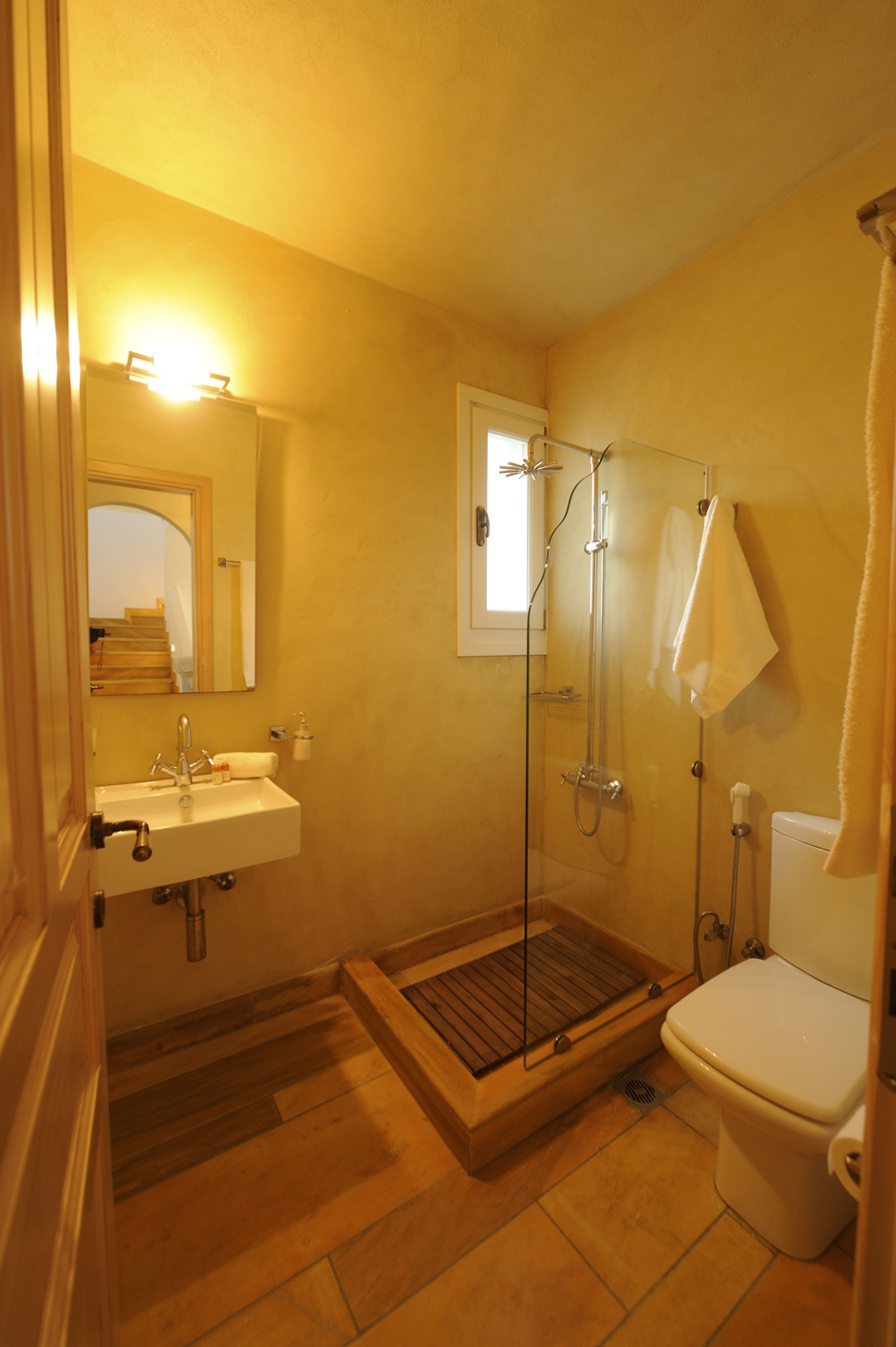 Shower bathroom in ground floor