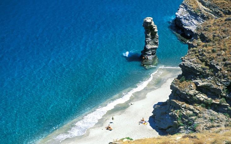 Tis Grias to Pidima beach Andros