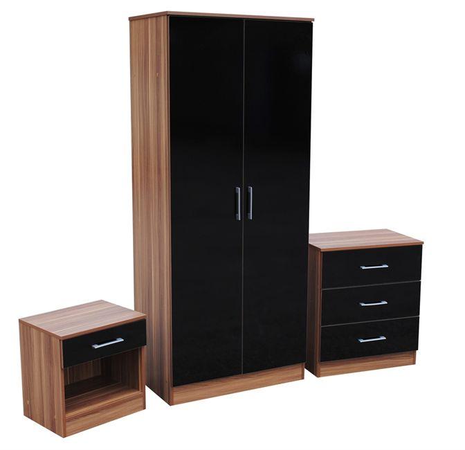 black oak bedroom furniture set